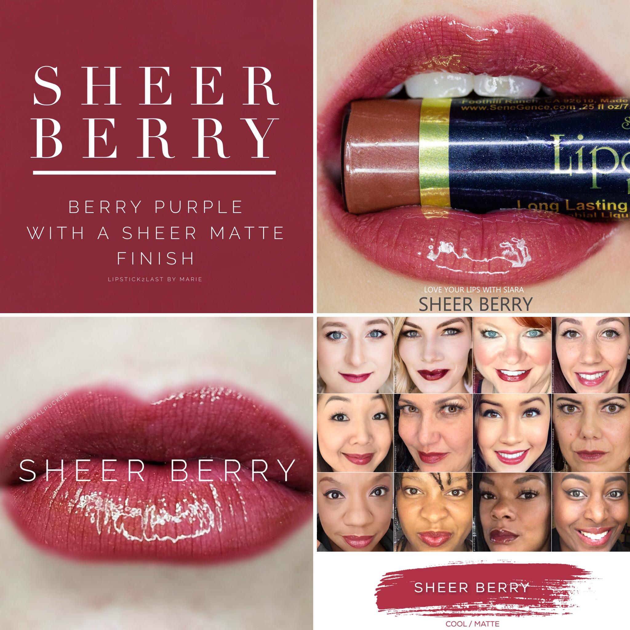 Sheer Berry Lipsense 174 Swakbeauty Com