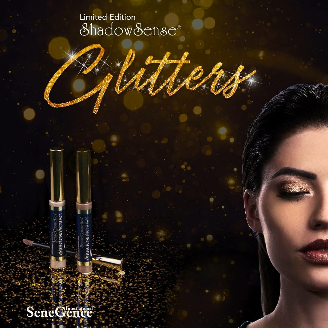 NEW Limited Edition ShadowSense Glitters… just in time for the Holidays!