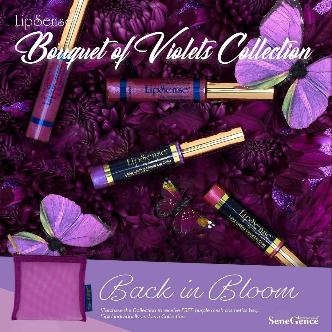 NEW Bouquet of Violets Collection!