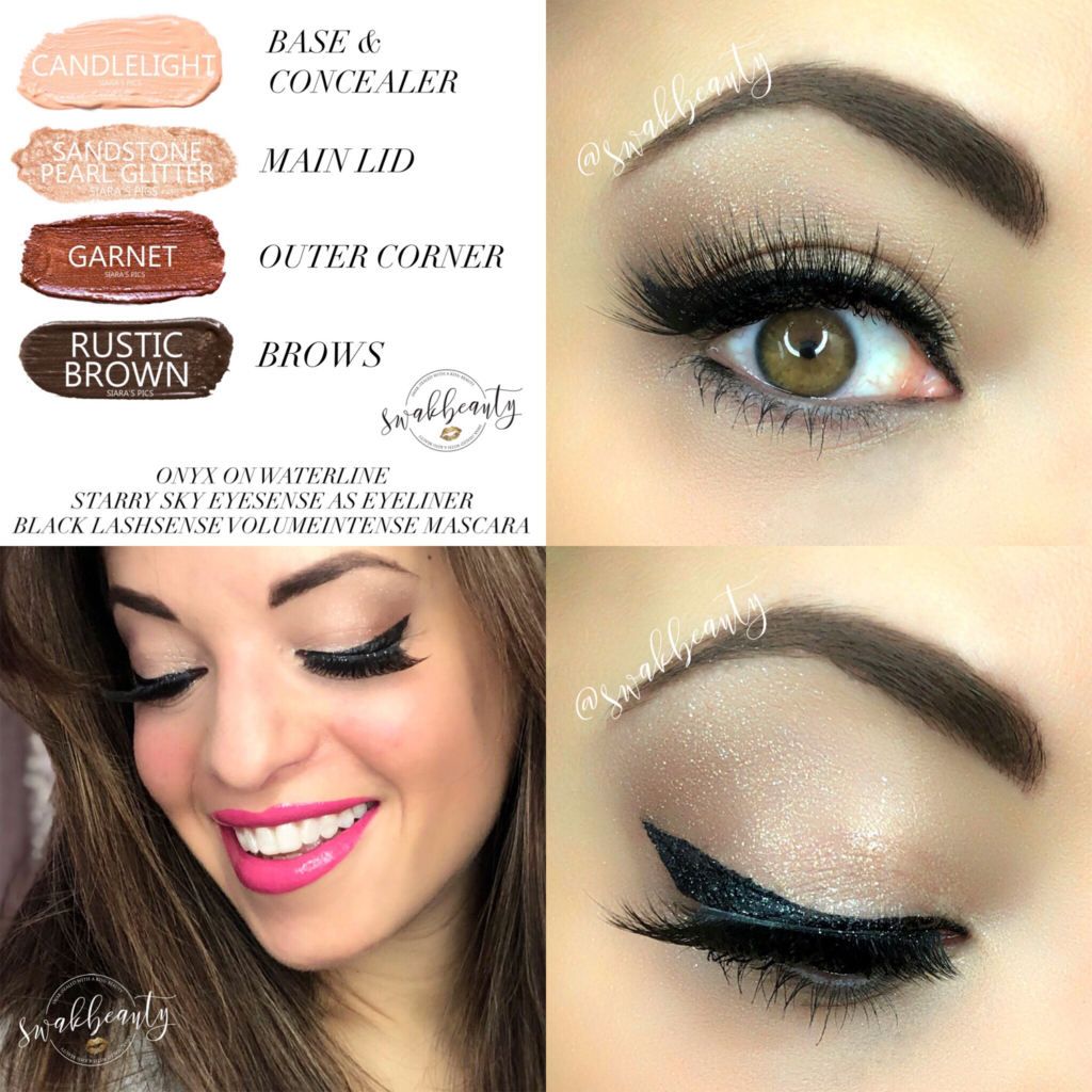 c50403439eb I broke out my old favorite, Starry Sky EyeSense for my wing today – and  I'm in love all over again! I absolutely LOVE the extra touch of BLING this  ...