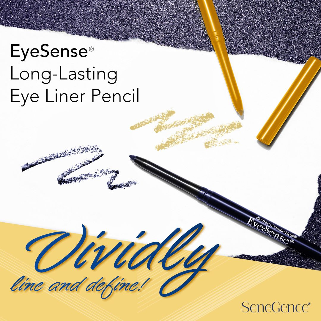 NEW Navy & Golden Shimmer EyeSense Pencils!