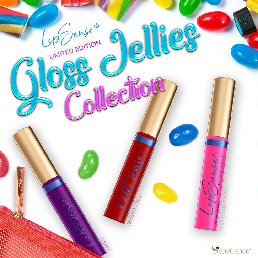 New LipSense® Gloss Jellies Collection!