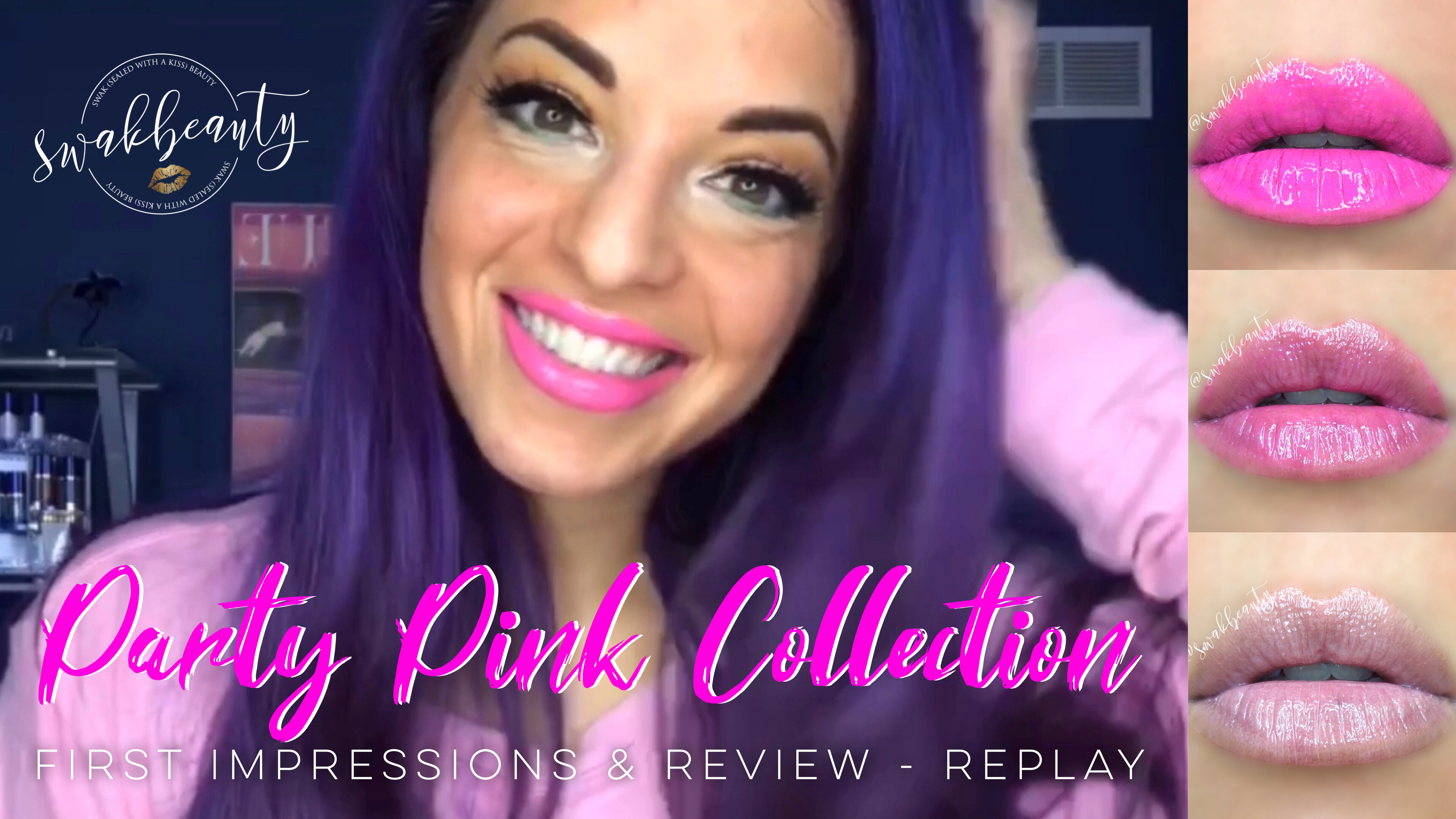 Party Pink Collection – First Impressions & Review!