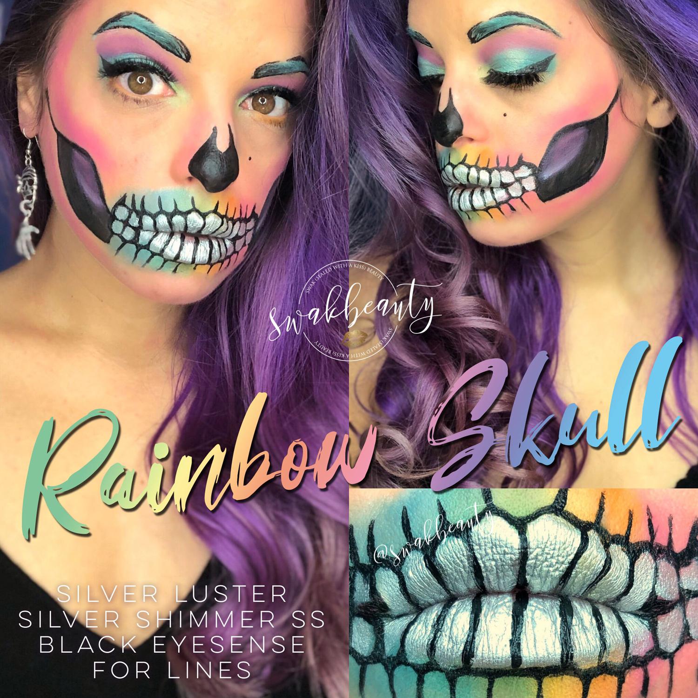 Halloween MOTD – Rainbow Skull