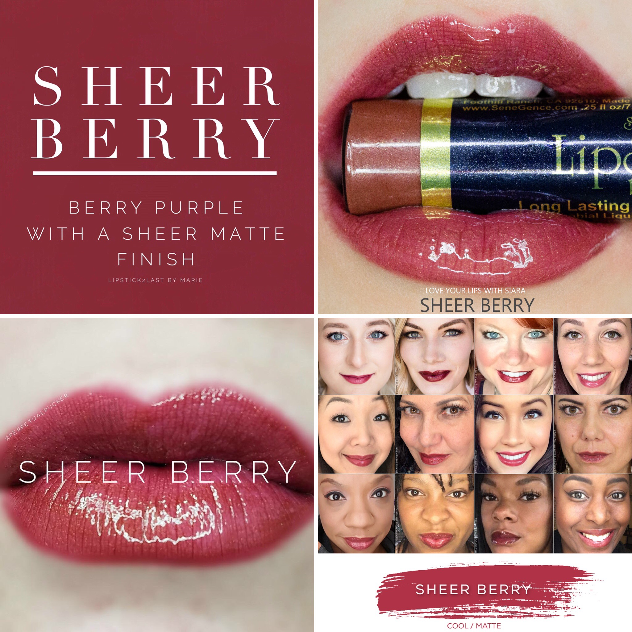 Sheer Berry LipSense®