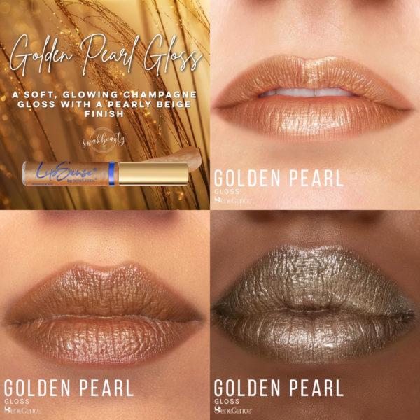 LipSense® Golden Pearl Gloss (Limited Edition